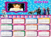 Calendário 2018 Frozen Festa