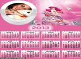Calendário 2013 Ariel Rosa