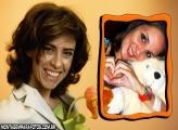 Moldura Fernanda Torres