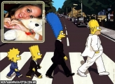 Moldura Simpson Beatles