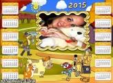Calendário 2015 Vaquinhas