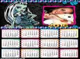 Calendário Monster High Frankie 2016