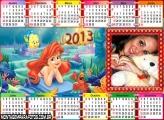 Ariel Sereia Calendário 2013