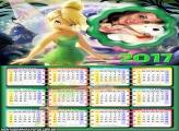 Calendário 2017 Tinker Bell