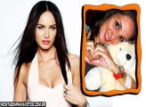 Moldura Atriz Megan Fox