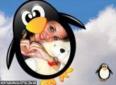 Moldura Pinguim de Geladeira