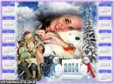 Papai Noel e Crianças 2014