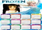 Calendário 2018 Princesa Elsa Frozen