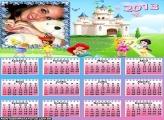 Calendário Baby Princess 2013