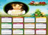 FotoMoldura Calendário 2018 de Natal