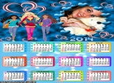 Calendário 2014 Barbie Pop Star