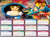 Calendário 2018 de Lego