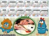 Calendário 2014 Galinha