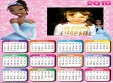 Calendário 2018 Princesa Tiana