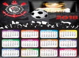 Calendário 2018 Corinthians Futebol Clube Time