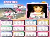 Calendário 2018 Lilica na Praia