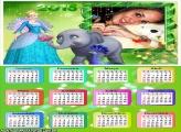 Calendário 2015 Animais Princesa