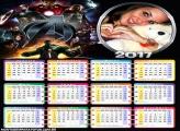 Calendário 2017 Avengers