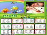 Calendário Fifi Floriguinhos 2016