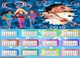 Calendário 2015 Barbie Jogos