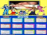 Calendário 2015 LazyTown Anime