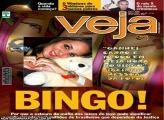 Moldura Revista Veja Bingo