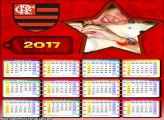 Calendário 2017 Flamengo Estrela