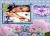 Parabéns Mamãe Moldura