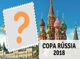 Cartão Moldura Copa Rússia 2018