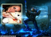 Moldura Game Halo 4
