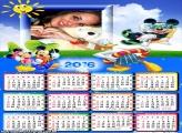 Calendário Moldura Mickey 2016