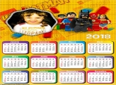 Calendário 2018 Batman de Lego