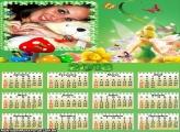 Calendário Tinker Bell 2013