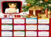 Montar Calendário 2018 do Natal