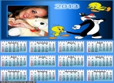 Calendário Frajola e Piupiu 2013