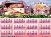 Calendário Princesa 2013