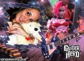 Moldura Roqueira Guitar Hero