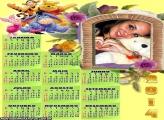 Calendário 2014 Ursinho Pooh