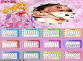 Calendário 2015 Linda Princesa