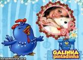 Fotomoldura Galinha Pintadinha