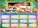 Calendário 2014 Sete Anões