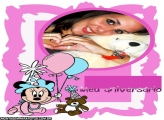 Convite Minie Baby Aniversário