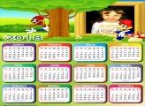 Calendário 2018 Pica Pau Desenho Animado