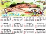 Calendário 2014 Looney Tunes