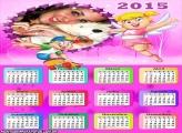 Calendário 2015 Xuxinha