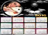 Calendário Batman o Cavaleiro das Trevas 2016