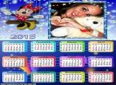Calendário 2015 Minnie Disney