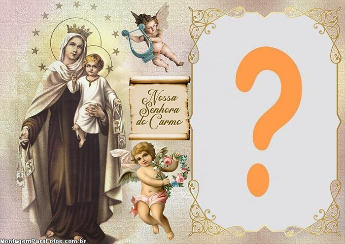 Moldura de Foto Nossa Senhora do Carmo