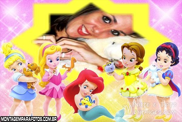 As Princessinhas e Animais