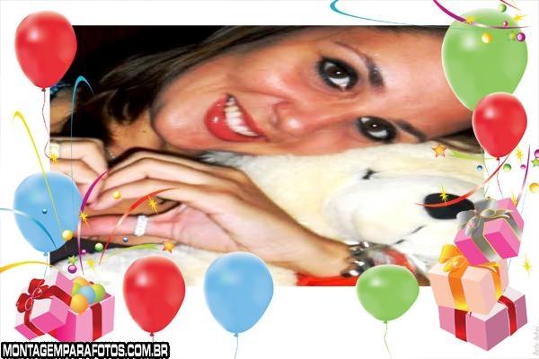 Caixas e Balões Festa Animada